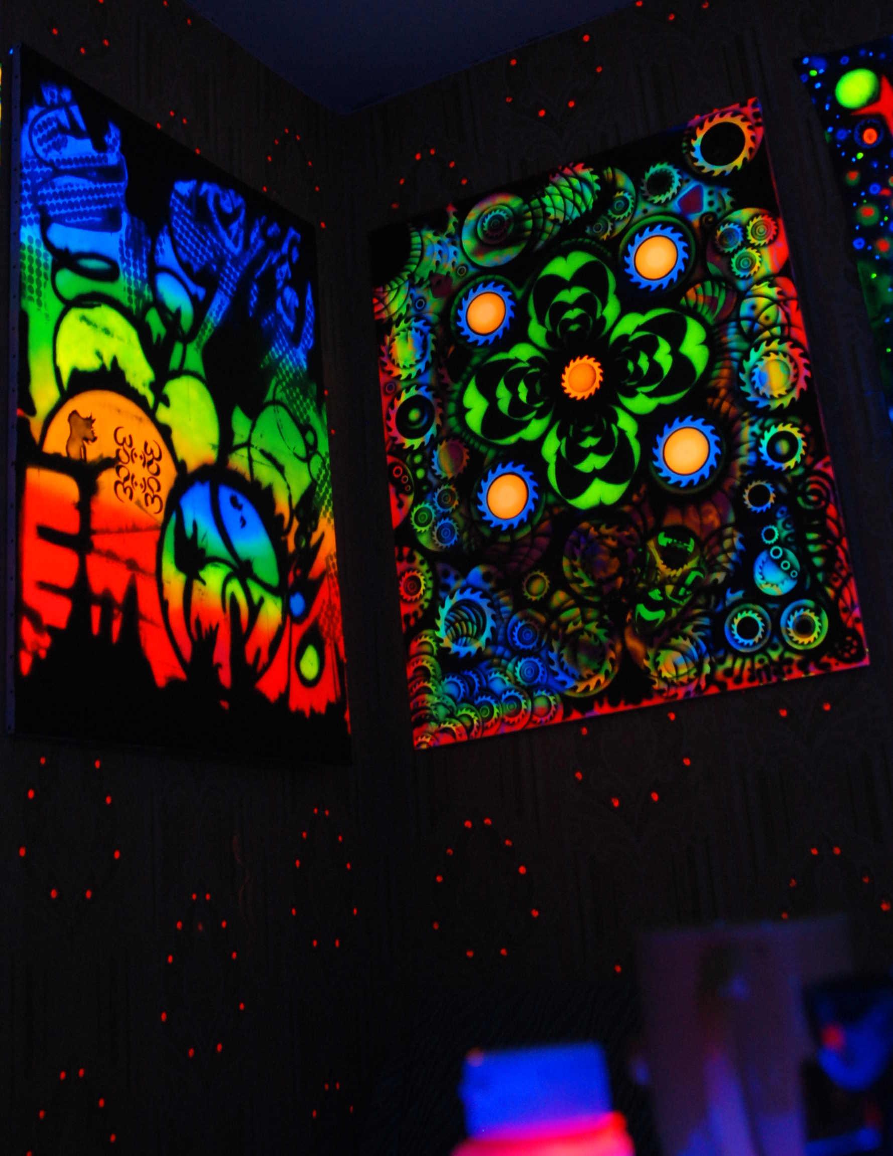 fluorescent-art